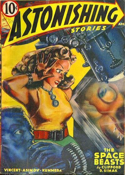 Capa da revista na qual o conto apareceu pela primeira vez.